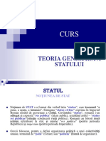 Curs III - Statul