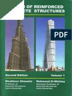 Design of Reinforced Concrete Structure - Volume 1 - DR. Mashhour A. Ghoneim.pdf