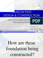 Caisson Piles Design & Construction
