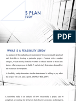 Business Plan - Feasibility Study Presentation