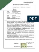 HUKUM BISNIS - Surat Perjanjian