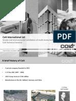 Colt Presentation - Smoke and Environmental Ventilation of Multi-storey Buildings Using Shafts