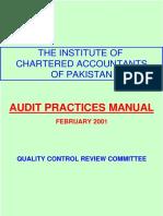 Audit Practices Manual