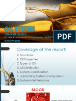 Oil System Reporting