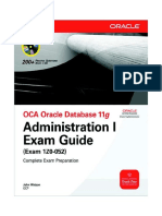 Administration Guide Oracle