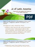 Grade 10 Afro Latin Music
