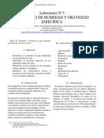 Laboratorio 3 Gravedad Especifica y Humedad (1)