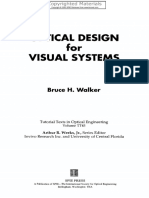 [Bruce H. Walker] Optical Design for Visual System