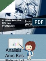 Analisis Arus Kas, ROI Dan Profitabilitas