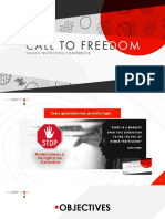 Call to Freedom (Deliverable)