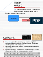 Input Device Presentation