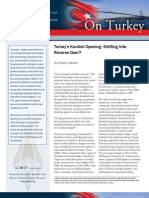 Turkey's Kurdish Opening