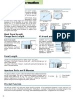 Avenir Lenses Technical Information