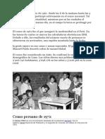 Censos Nacionales Del Peru