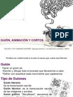 Guion Animacion y Corto Taller 6