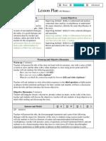 Lesson Plan Reading and Writing Grammar w5 Foj