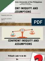 Confront Inequity and Assumptions ( Irish Seria)
