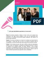 Entrevista a las ganadoras de Las Cuentas Cuentan 2017