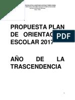 Propuesta Plan de Orientación 2017