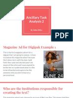 ancillary task analysis 2