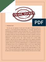 Trade Secret Poster
