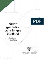 Nueva gramática de la lengua española.Fonética y Fonología