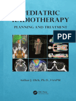 Pediatric Radiotherapy