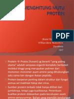 Menghitung Mutu Protein (6)