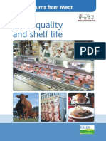 Meat Quality and Shelf Life