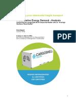 Cargoshell Report Final Version ENG 20 Okt 2016 - Summary