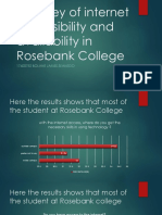 A Survey of Internet Accessibility and Availability In Rosebank College
