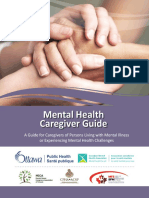 Mental Health - Caregiver Guide