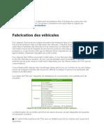 Emissions Indirectes VEHICULES