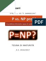 P vs NP