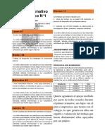 Boletín Informativo 1