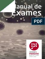 MANUAL de EXAMES Laboratório Hermes Pardini - 2015