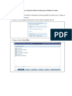 Manual Para Criação de Filtros de Status Para Pedido de Vendas