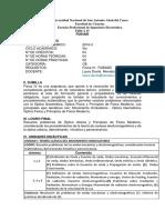 Silabo Fisica IV Por Competencias 2016-II