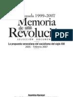 Memoria de una Revolución. Tomo IV