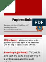 Step 4 L. Arts - Puptown Rules