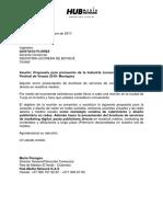 Carta, Brochure de Servicios