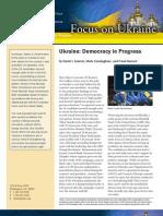 Focus on Ukraine - Democracy in Progress