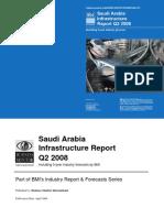 Saudi Arabia Infrastructure Report Q2 2008