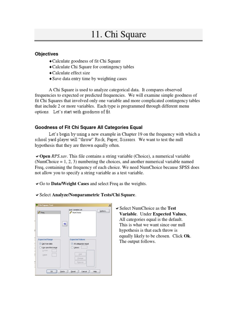 Spsschapter11pdf goodness of fit chi squared distribution watchthetrailerfo