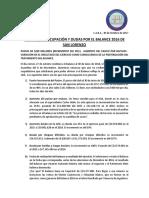 Informe Balance CASLA 2016