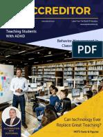IAO Accreditor  (Sept-Dec, 2017)