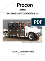 Fi-02 Half-door & Fops Kit Installation Procedure