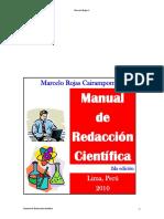 Manual de Redacion Cientifica -2010