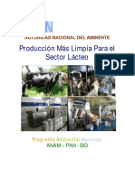 Guia de PML Sector Lacteo