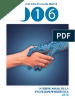 Informe Anual Profesion APM 2016